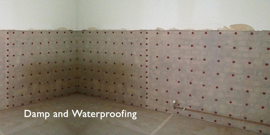 Damp & Waterproofing